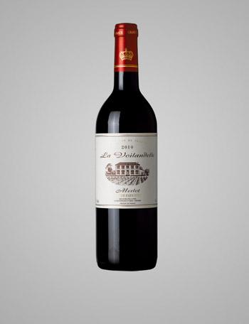 拉威黛庄园美乐红葡萄酒